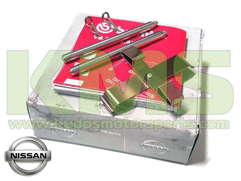 Genuine Nissan Brake Caliper Hardware Kit Front U Nissan Z Z Track Skyline R Gtr V Spec V Spec Ii R Gtr R Gtr V Gt Brembo Pot Caliers