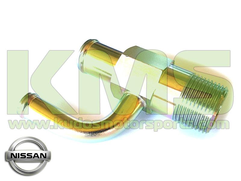 Water Connector (Engine Block, Rear) To Suit Nissan Skyline R33 GTR U0026 R34  GTR   RB26DETT [NIS 14075 24U00]