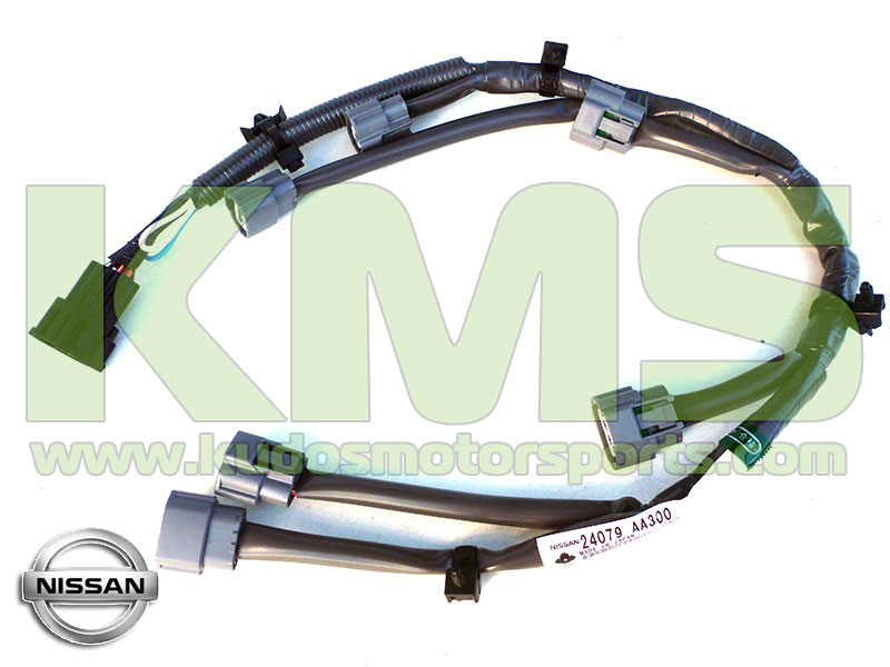 Genuine Nissan Wiring Harness Loom Coil Pack 24079 AA300 Nissan Skyline R34 GTR RB26DETT kudos motorsports japanese performance & servicing parts specialist rb26dett wiring harness at bakdesigns.co