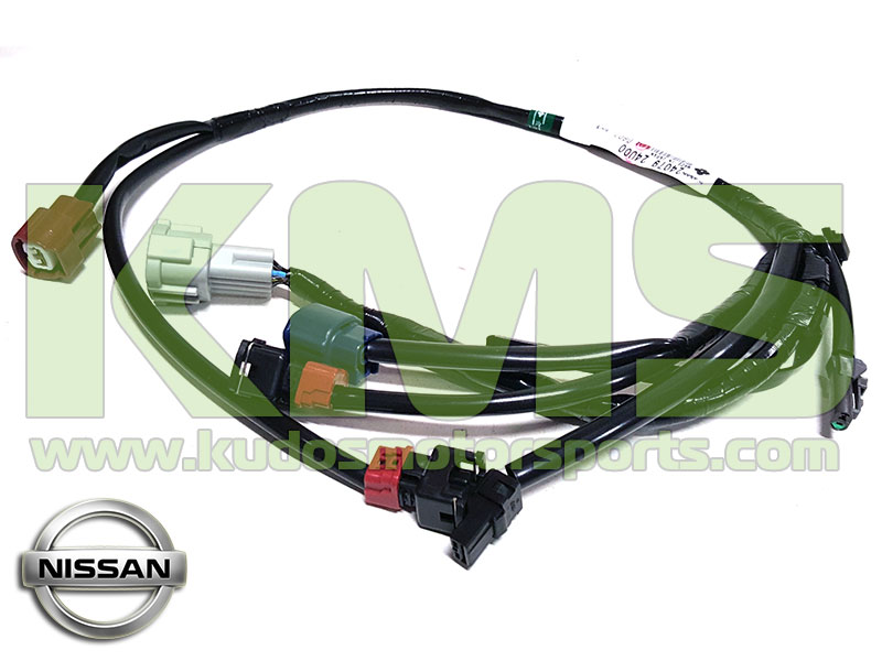 Genuine Nissan Wiring Harness Loom Knock Sensor 24079 24U00 Nissan Skyline R33 GTR R34 GTR Stagea WGNC34 260RS RS Four S kudos motorsports japanese performance & servicing parts specialist r32 gtr wiring harness at crackthecode.co