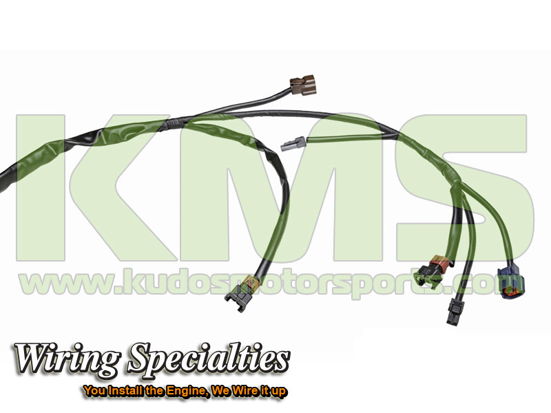 Wiring Specialties Engine Harness WRS RB26R32 MAIN Nissan Skyline R32 GTR RB26DETT_2 kudos motorsports japanese performance & servicing parts specialist r32 gtr wiring harness at crackthecode.co