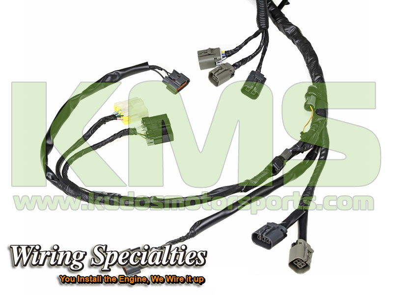 Wiring Specialties Engine Harness WRS RB26R32 MAIN Nissan Skyline R32 GTR RB26DETT_4 kudos motorsports japanese performance & servicing parts specialist r32 gtr wiring harness at crackthecode.co