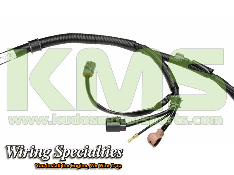 Wiring Specialties Transmission Harness WRS RB26R32 TRN Nissan Skyline R32 GTR RB26DETT_1 kudos motorsports japanese performance & servicing parts specialist r32 gtr wiring harness at crackthecode.co
