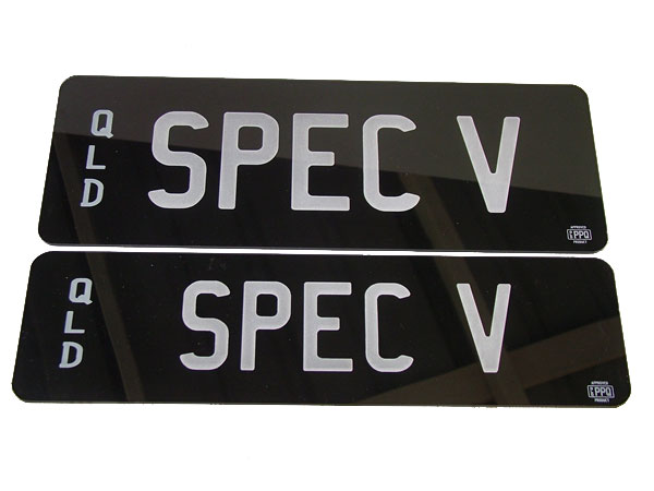 personalised plates transfer application qld